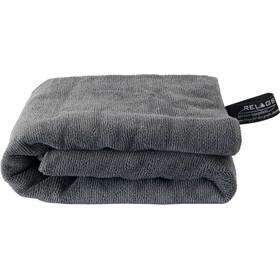 Basic Nature Terry Håndklæde 85x150cm, grå
